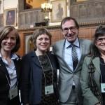 Rosalyn Morrison, TCF - Nancy Smith Lea, TCAT - Michel Lebrecque, STM (Montreal) - Eva Ligeti, CAP