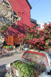 Original Garden Car - Fall 2011